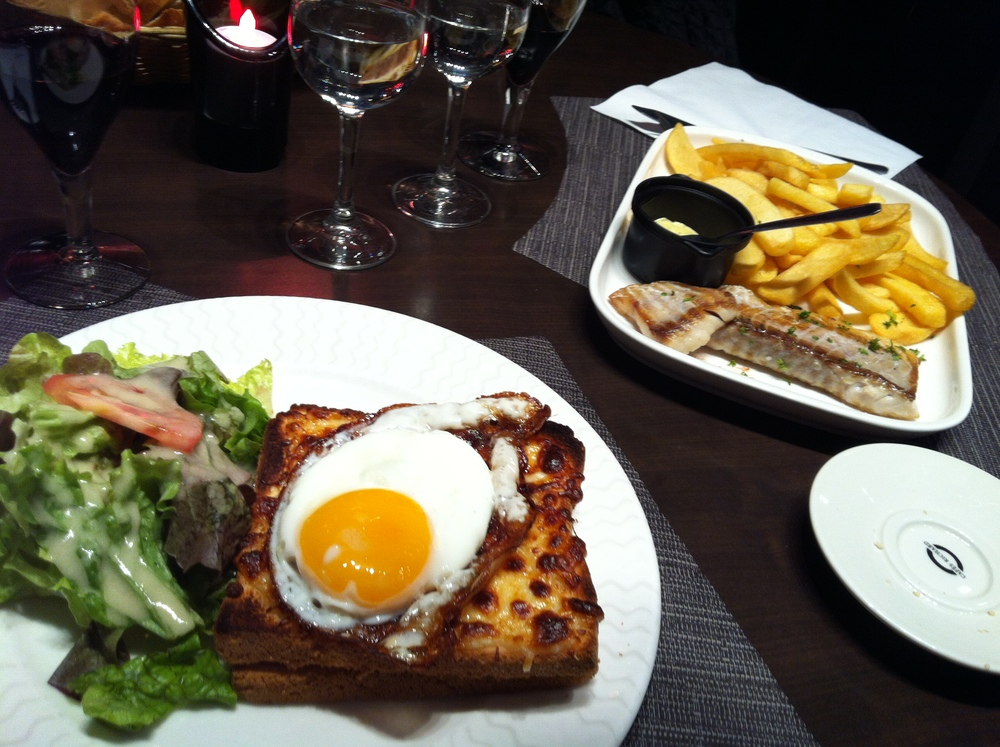Our First Parisian Meal