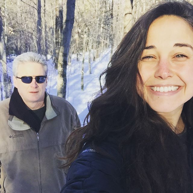 "This past weekend my dad and I met in the northeast mountains for an impromptu trip together. I have two beautiful siblings and so the two of us don't get much solo time. 🌄 We talked a lot about the ""shoulds"", the power of noticing them, and the possibility that lies on the other side of what we perceive as necessary. He asked me detailed questions about my vision for the future, down to the specs of my living space (the beachside bungalow). He asked me to step outside of what I imagine as possible and focus on occupying a space of abundance and idealism. I got defensive, and then I got grateful. We don't always agree, and I dare to say we are very different people, but this weekend has been very special to me. 🗻"