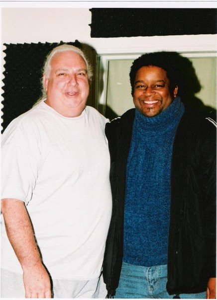 J with former V.P. of A&M RECORDS, Legendary Engineer/Producer and Big Brother, MR. SHELLY YAKUS!