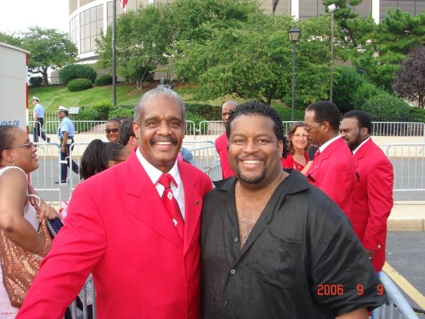 J with a living legend who was the Original Lead Singer of THE STYLISTICS, MR. RUSSELL THOMPKINS, JR.!