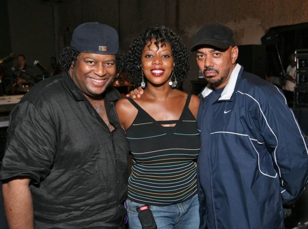J with singer Cheryl Hicks and GRAMMY AWARD WINNER MR. JAMES INGRAM!