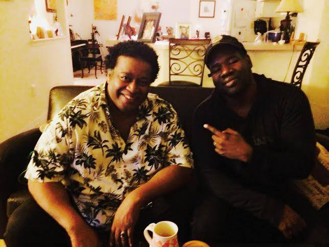 J with GRAMMY AWARD WINNING DRUMMER JOHN BLACKWELL (Prince, Justin Timberlake, Patti LaBelle, Cameo)