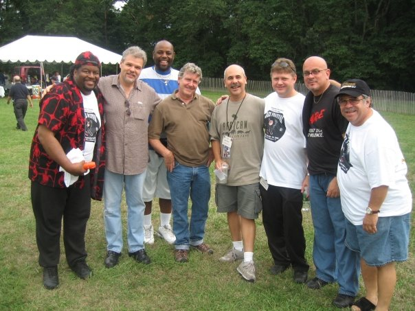 J with members of SPYRO GYRA and CINTRON!