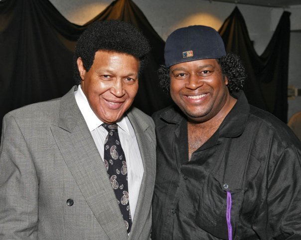 "J with Legendary ""TWIST"" Man, CHUBBY CHECKER!"