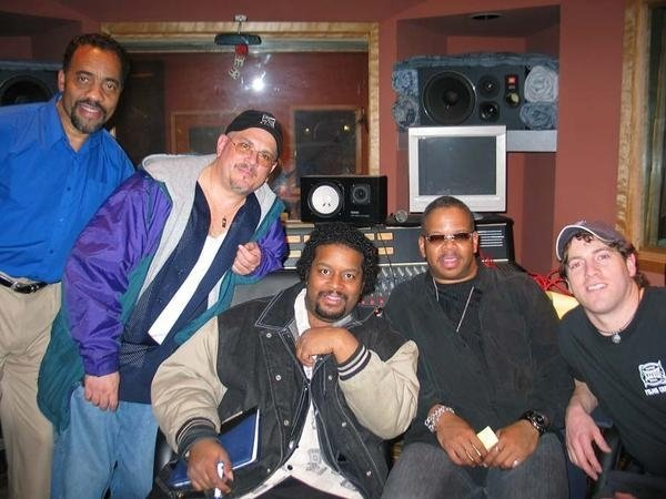J with BOBBY LYLE, EDGARDO CINTRON, MIKE V. and GRAMMY AWARD WINNING LEGENDARY JAZZ TRUMPETER, MR. TERENCE BLANCHARD!