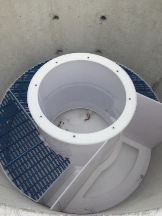 Internals can be installed in concrete manholes before shipping to the site or after installation has occurred.