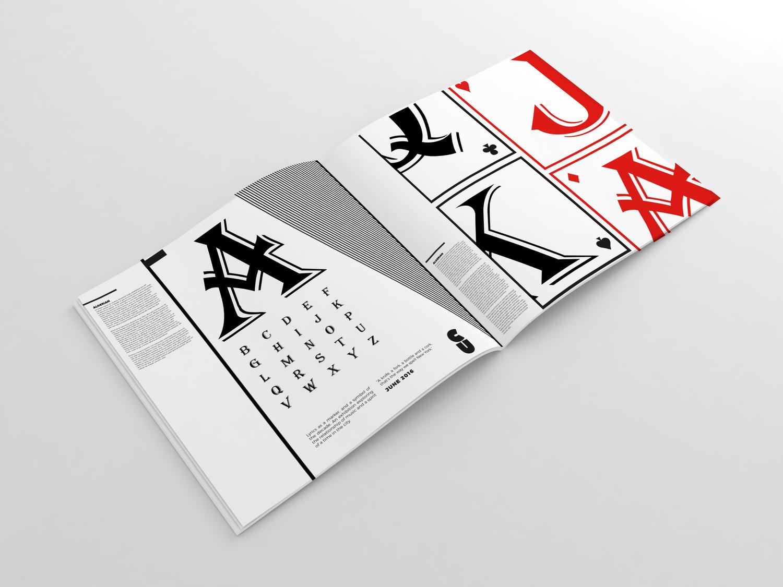 Typography Designing with Algerian — Stephanie Behie