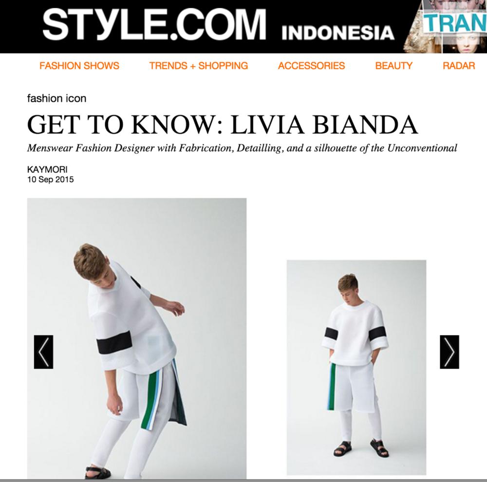GET TO KNOW: LIVIA BIANDA
