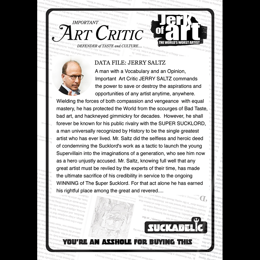 Art Critic Back