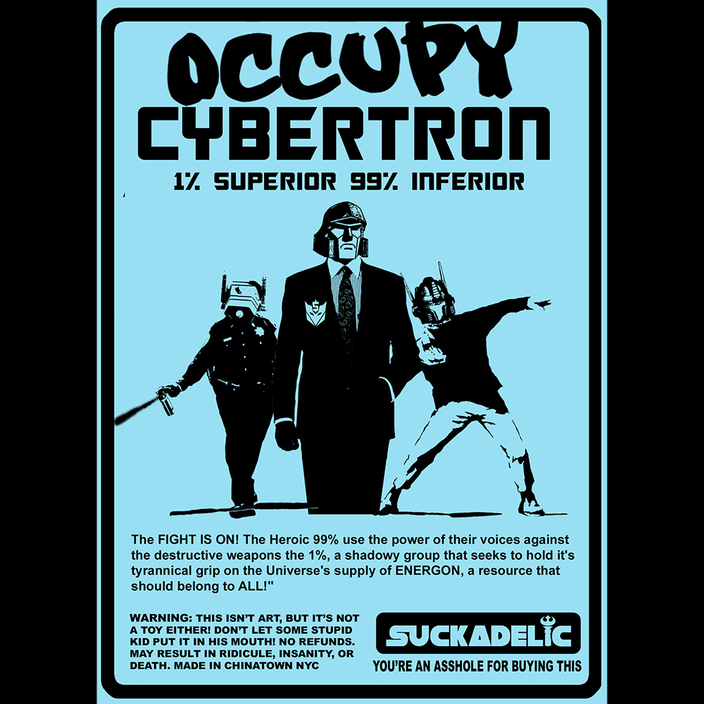 Occupy Cybertron Back