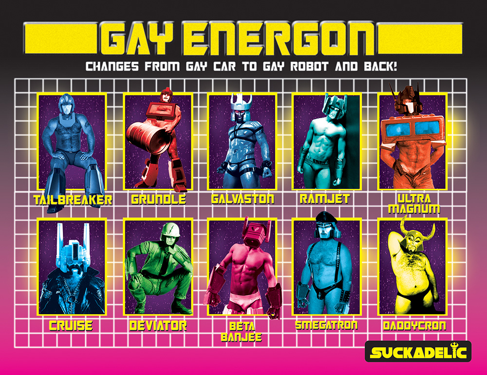 Gay Energon Back