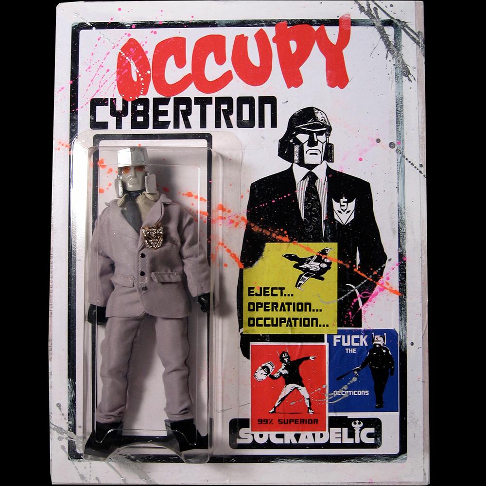 OCCUPY CYBERTRON DELUX