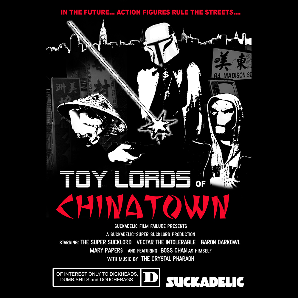 TOY LORDS OF CHINATOWN Poster