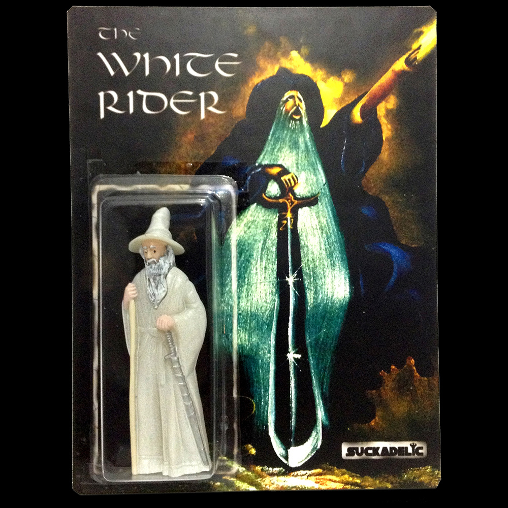 THE WHITE RIDER