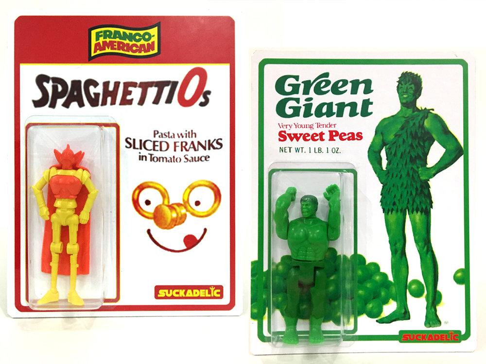 Spaghetti-Os/ Green Giant