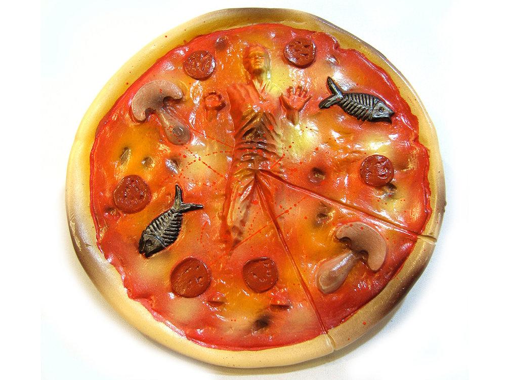 FROZEN HAN SOLO PIZZA