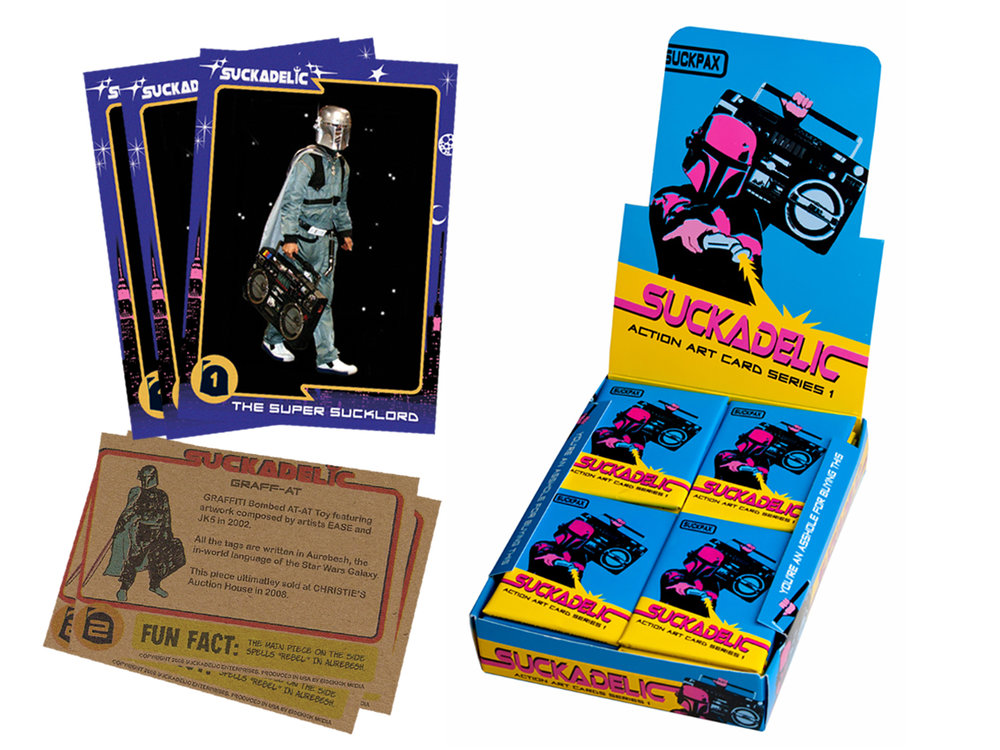 SUCKPAX Trading Cards