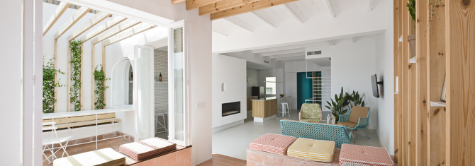Rocha Apartment, Barcelona Spain - Colombo and Serboli Architecture (www.nikkiweedon.com)