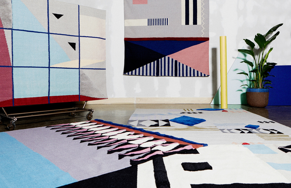 Limited Edition Rugs - Aelfie + Studio Proba Collaboration (www.nikkiweedon.com)