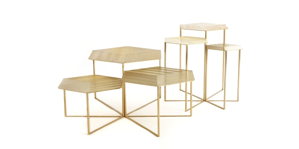 Hex Coffee + Side Tables - Haldane Martin (www.nikkiweedon.com)