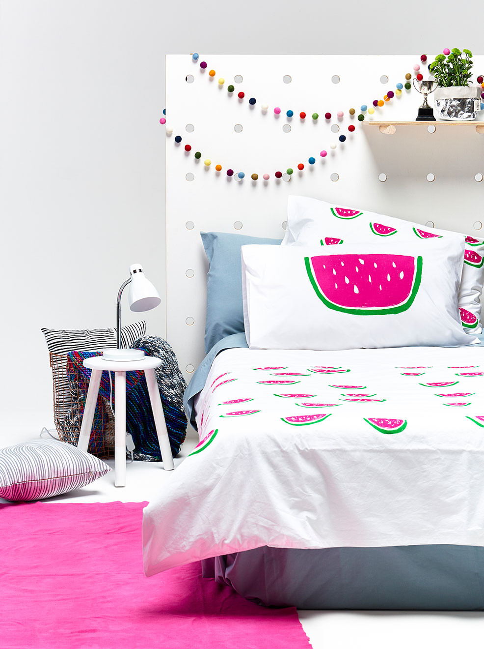 Mini Watermelon Bedding - Henry + Co (www.nikkiweedon.com)