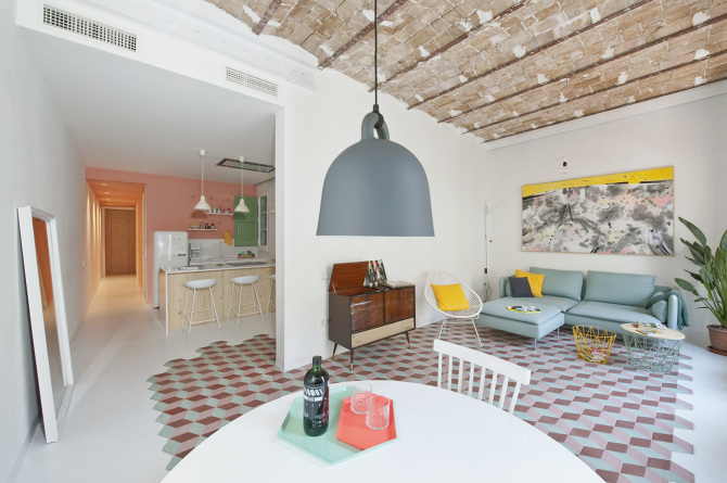 Tyche Apartment, Barcelona Spain - Colombo + Serboli Architecture (www.nikkiweedon.com)