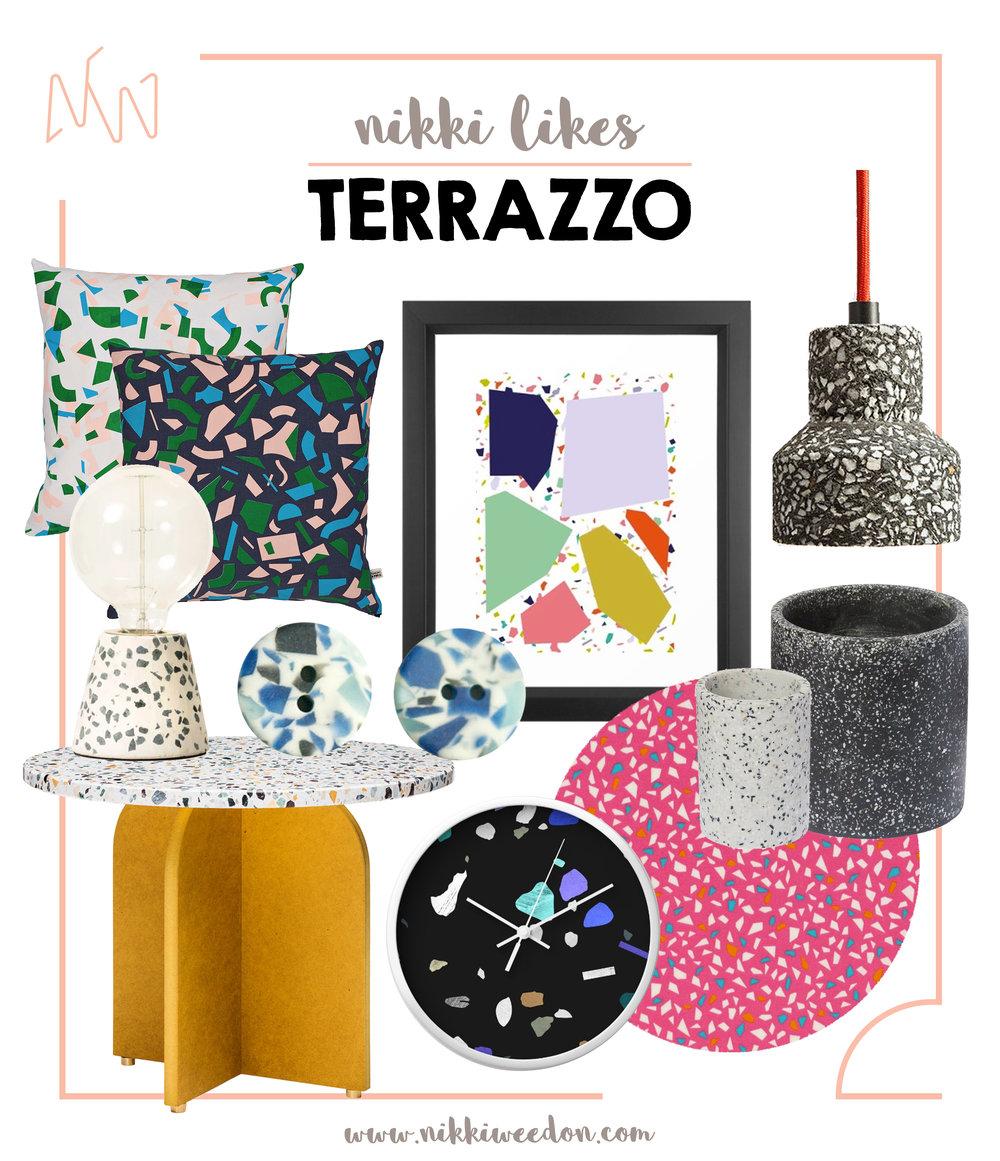 Nikki Weedon Likes Terrazzo