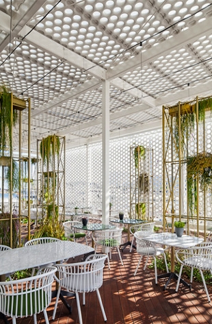 One ocean club restaurant, barcelona spain   elequipo creativo ...