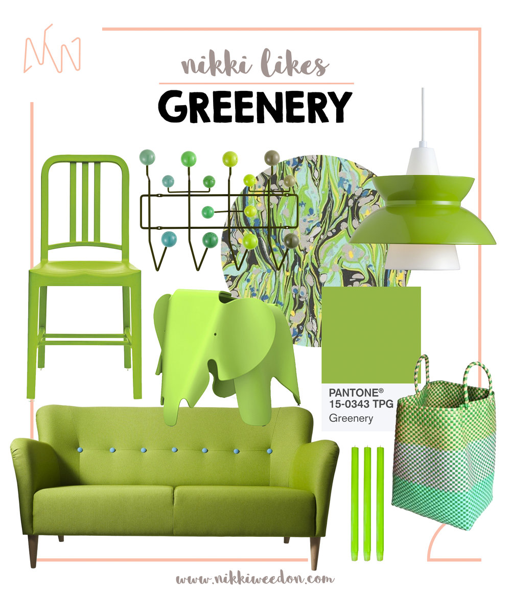 Nikki Weedon Likes GREENERY (Pantone Colour Of The Year 2017)