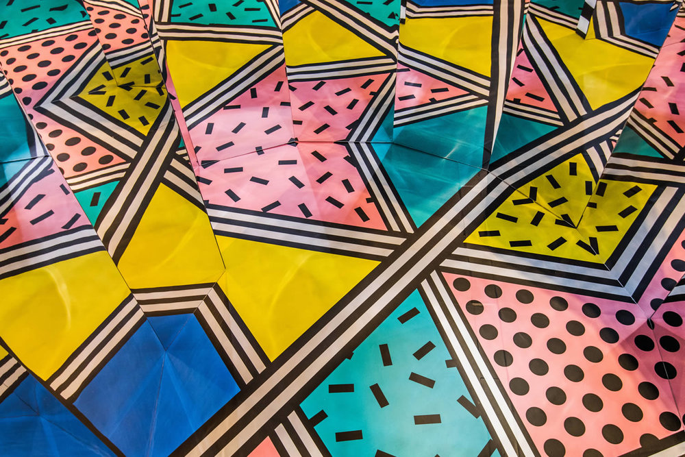 Camille Walala Exhibition, London UK - NOW Gallery Greenwich (www.nikkiweedon.com)