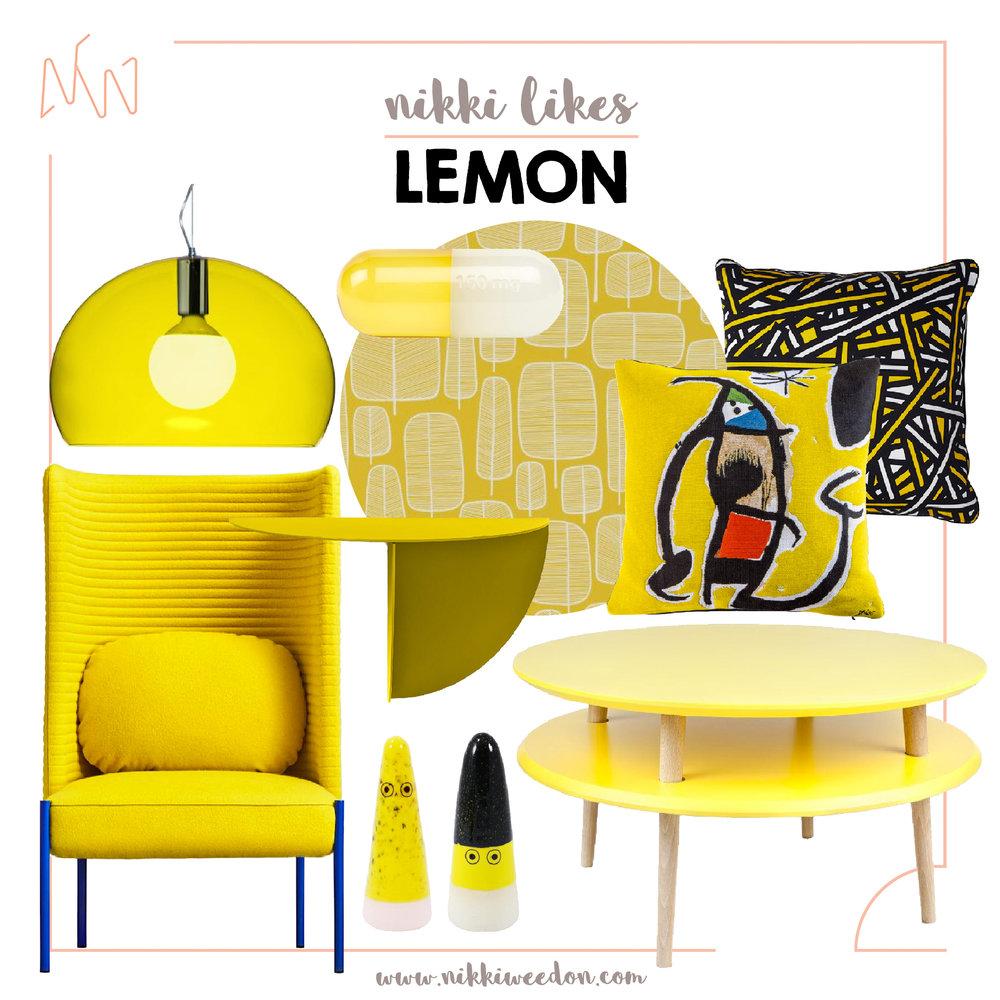 Nikki Weedon Likes LEMON (www.nikkiweedon.com)