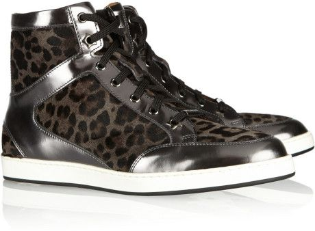 Jimmy Choo Calf Hair Sneaker (as worn by Cate)