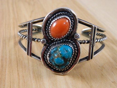 Indian Cuffs - Several beautiful Native American bracelets made their way to the shop this week!