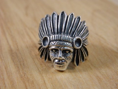 Men's Rings - Killer men's rings hit the shop! Indian Chief, Dragons and Crowns! They're pretty darn spectacular.
