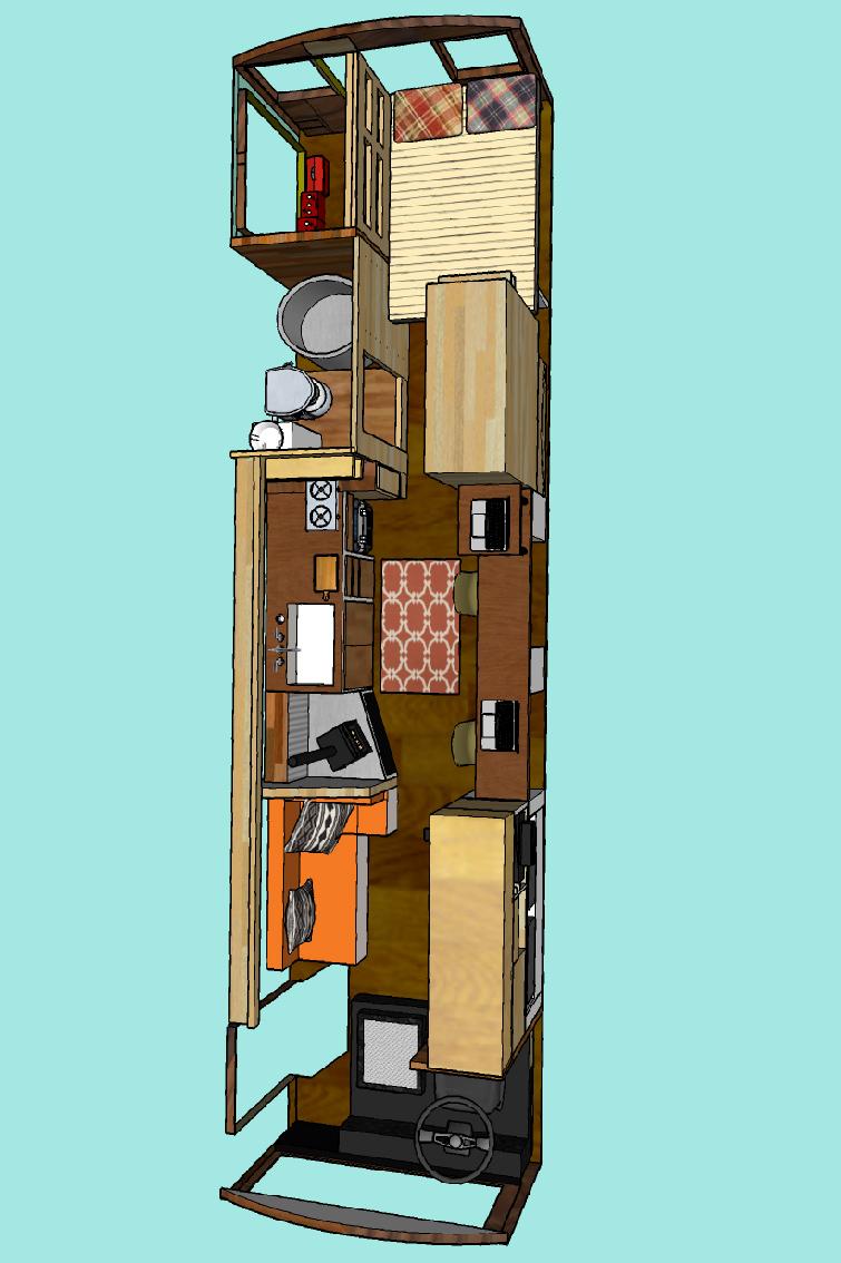 Design Your Own Skoolie Floor Plan Rolling Vistas