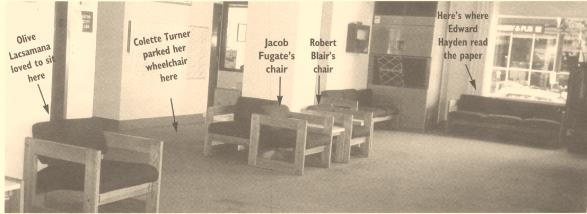 Roosevelt Plaza's empty lobby