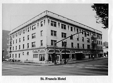The old St. Francis was razed to create new – and more expensive – housing.