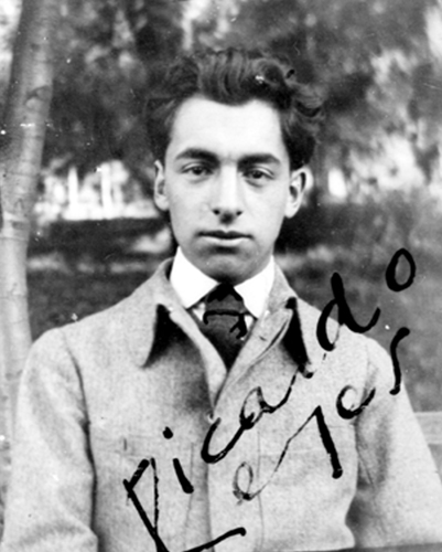 Ricardo Reyes (Pablo Neruda) Photo: Public Domain