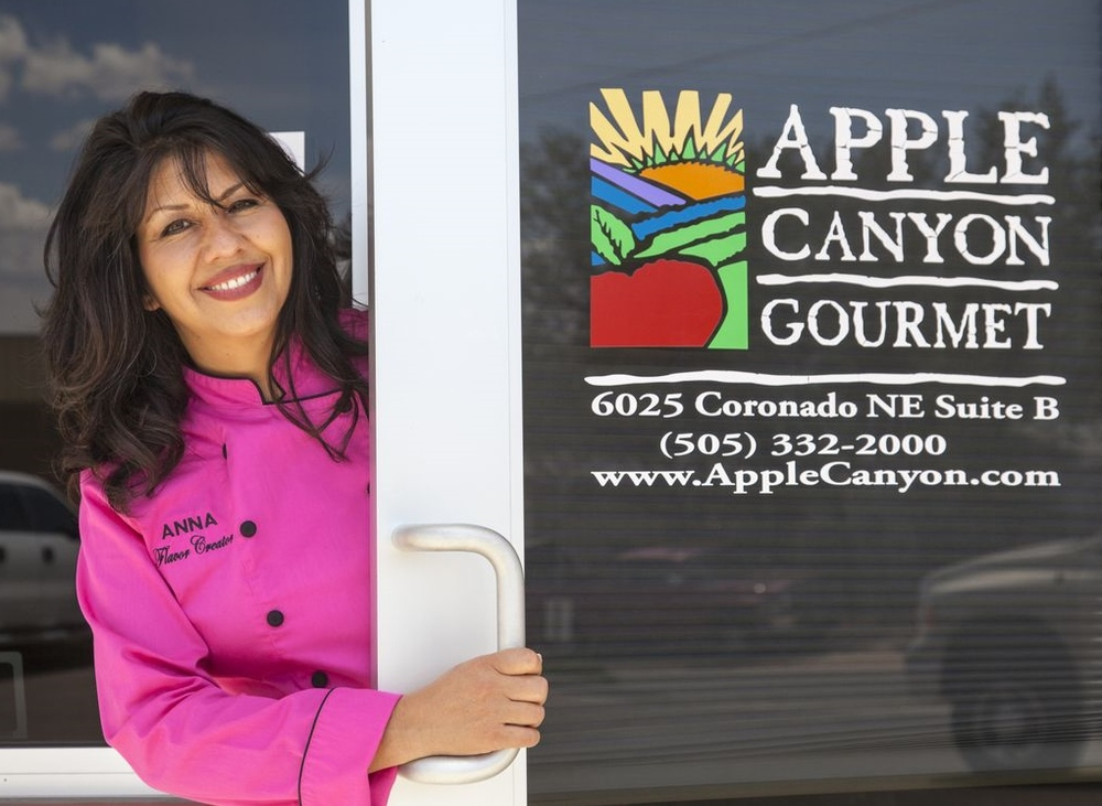 Anna Shawver, Owner Apple Canyon Gourmet