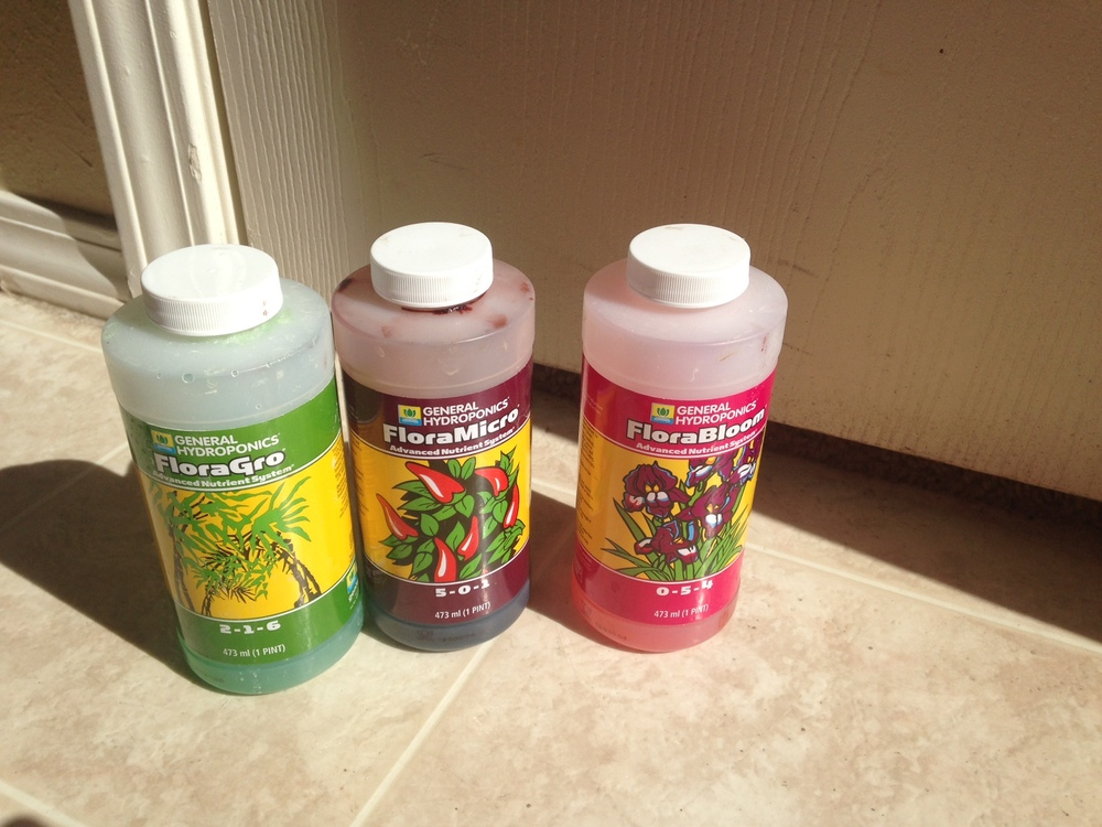 Nutient Mix from General Hydroponics