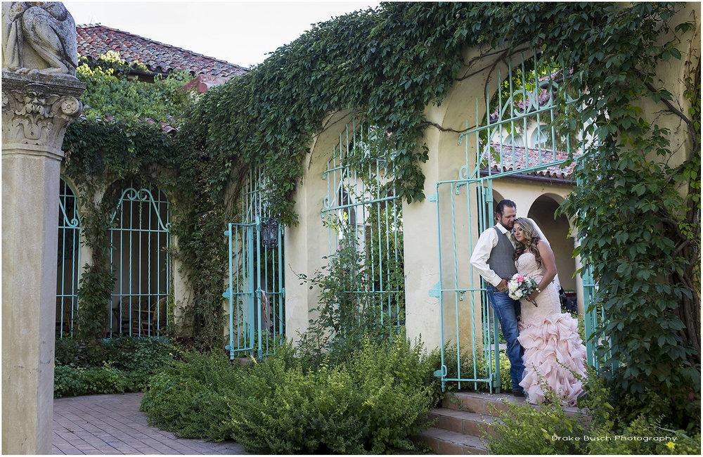 Star and Erin Wedding In Garden