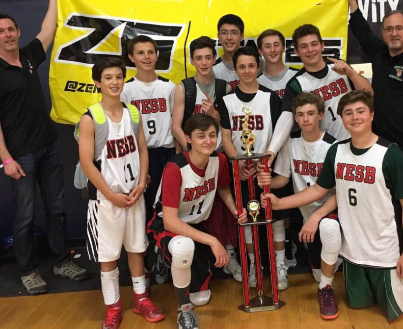 Our  14U-O'Hara  team celebrating after winning the 2016 Massachusetts State Championship going 6-0 on the weekend.