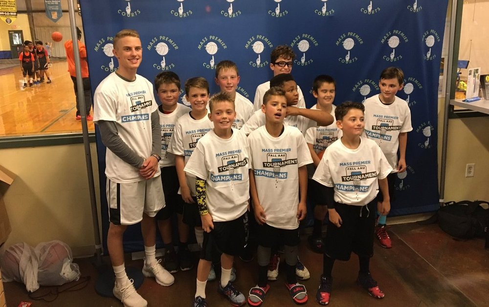 11U - May after winning the Mass Premier Fall Tip-Off 5th Grade Championship with a perfect 3-0 record.