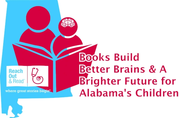 Books Build Better Brains &A Brighter Future forAlabama's Children - We know that children are our future and in order for them to have the brightest one possible, they must be prepared to learn.You are invited to join us in creating that opportunity for all of Alabama's children with your gift of $100 or more.