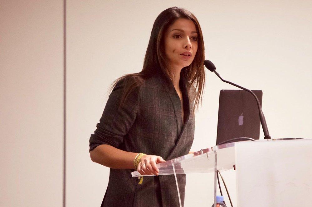 Inès Leonarduzzi - Conférence Alma Eiffel, 2018