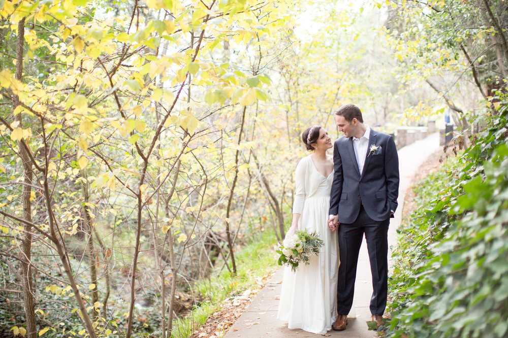 CHLOE +TEDDY // piedmont community center winter wedding