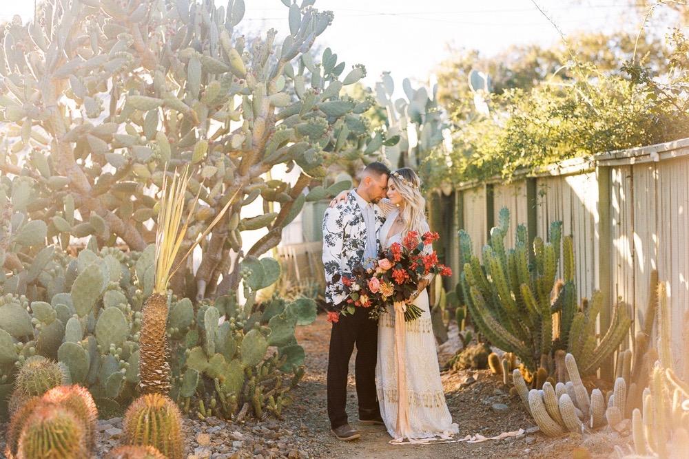 wedding inspiration // bohemian meets modern DESERT