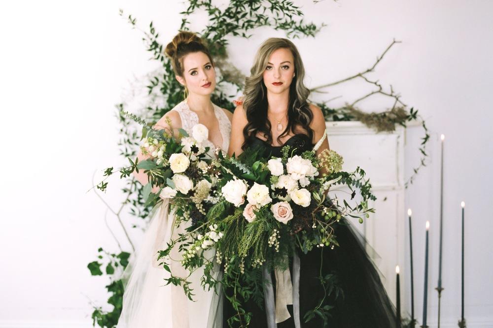 wedding inspiration // wintery OFFBEAT BRIDE WEDDING