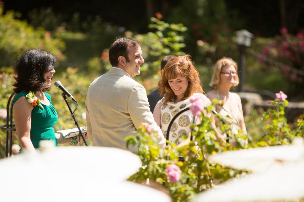 JESSICA + STEVE // oakland rose garden and luncheon wedding