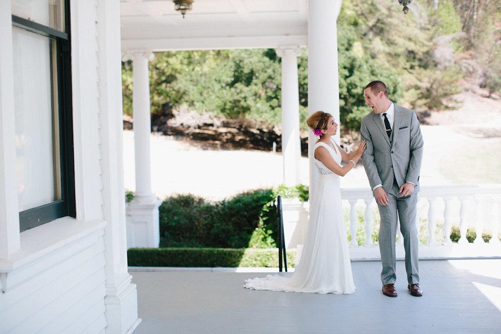 NAOMI + ANDREW // oakland historic estate wedding